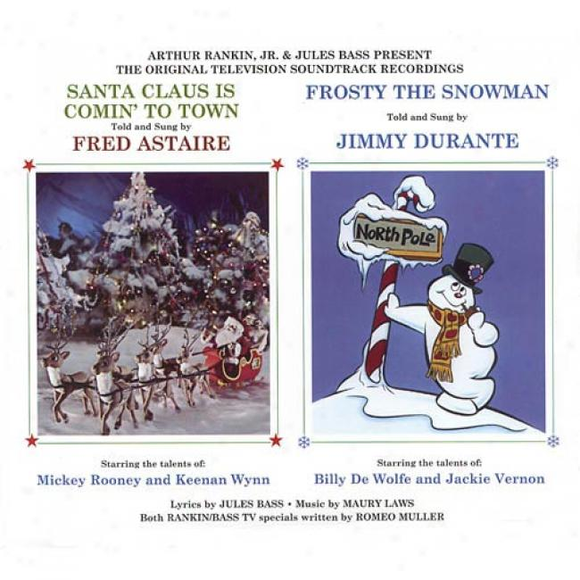 Santa Claus Is Comim' To Town/frosty The Snowman Soundtrack (digi-pak) (remaster)