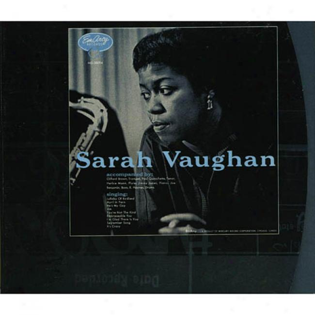 Sarah Vaughan With Clifford Brown( digi-pak) (remaster)