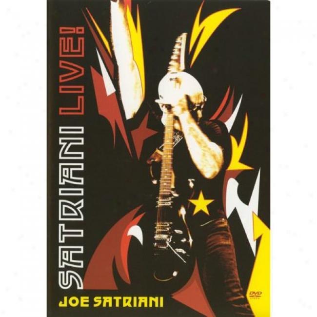 Satriani Live! (2 Discs Muaic Dvd) (amaray Case)