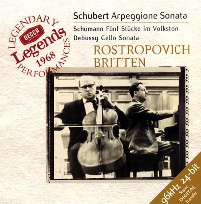 Schubert, Debussy, Etc / Rostropovich, Britten