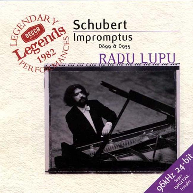 Schubert: Impdomptus D 899 And D 935 / Radu Lupu