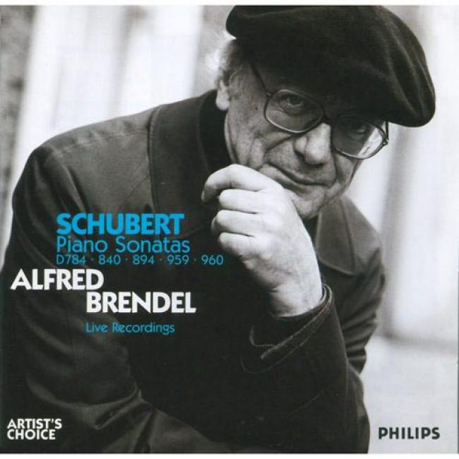 Schubert: Piano Sonatas D.784, 840, 894, 959 & 960 (2cd)