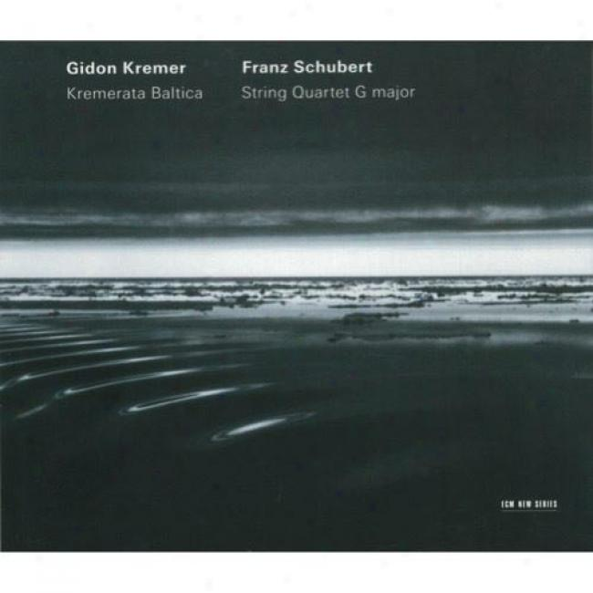 Schubert: String Quartet G Major (cd Slipcase)