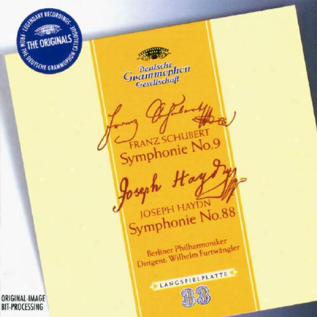 Schubert: Symphonie Nr.9/haydn: Symphonie Nr.88