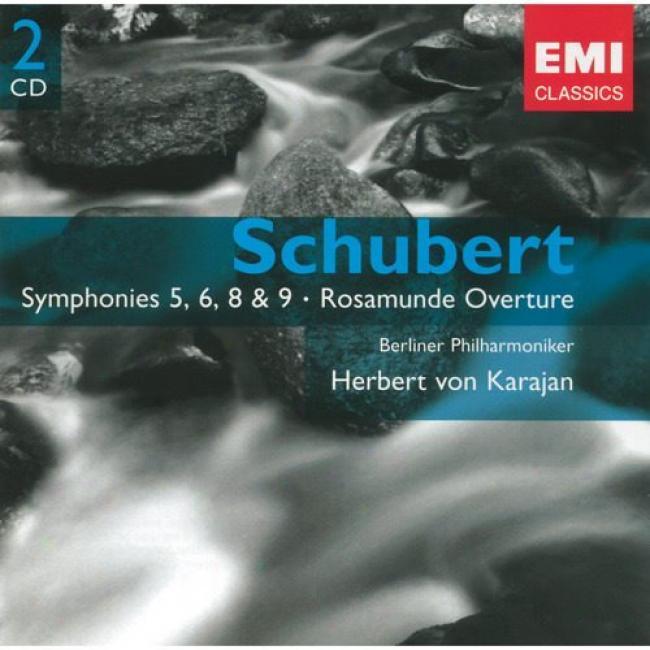 Schubert: Symphonies Nos.5, 6, 8 & 9 (2cd) (remaster)