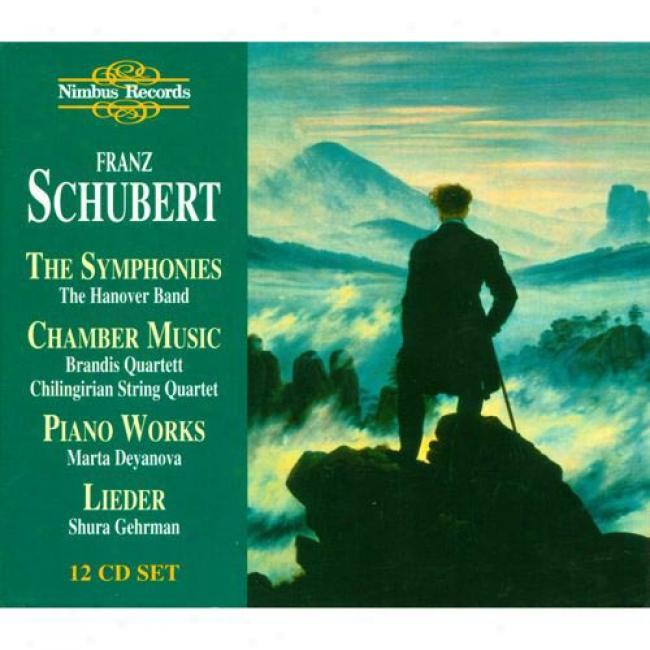 Schubert: The Symphonies, Etc. (12 Disc Box Set)