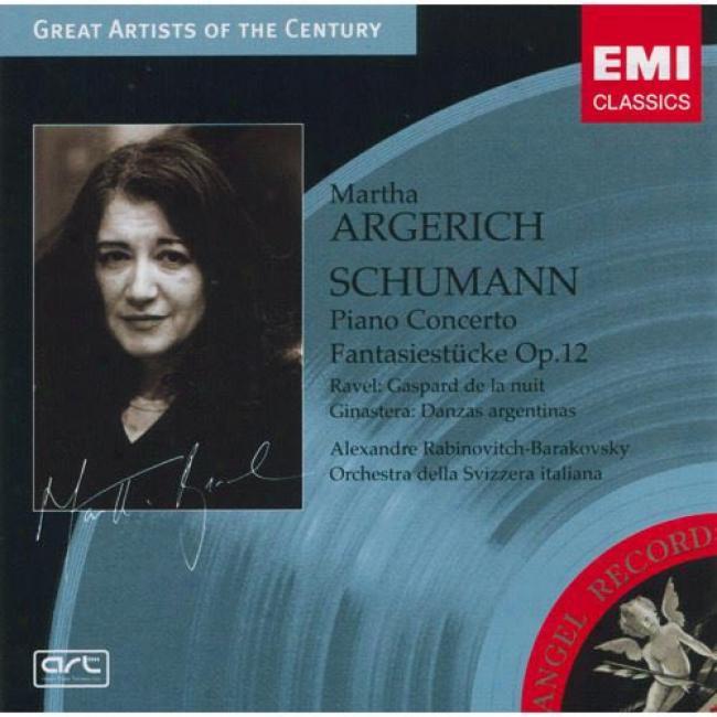 Schumann: Piano Concerto/fantasiestucke (remaster)