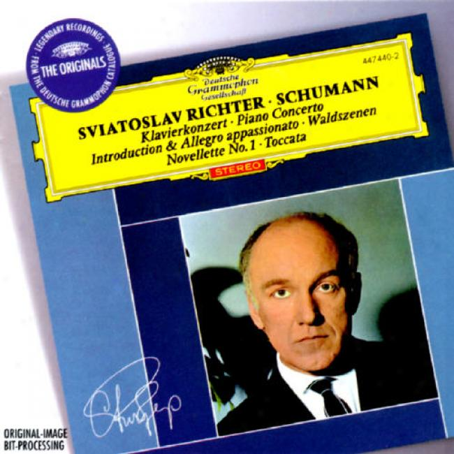 Schumann: Piano Concerto/introduction & Allegro Appaswionato