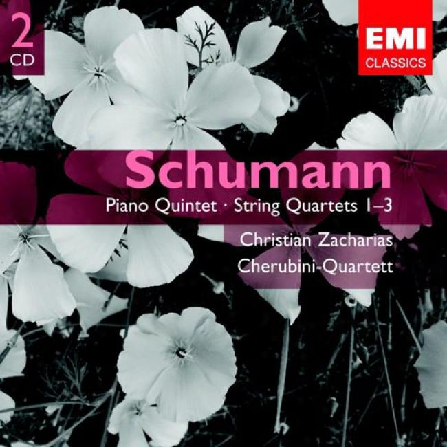 Schumann: Piano Quintet - String Quartets (2cd)