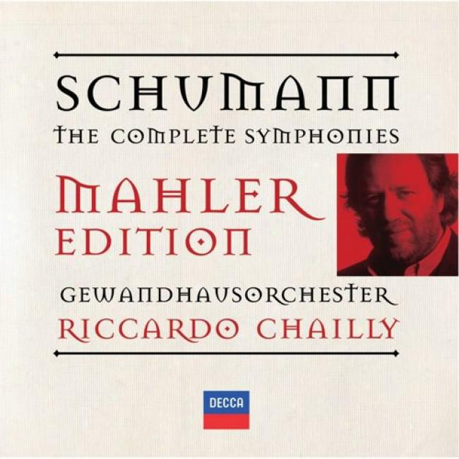 Schumann: The Complete Symphonies - Mahler Edition (2cd)