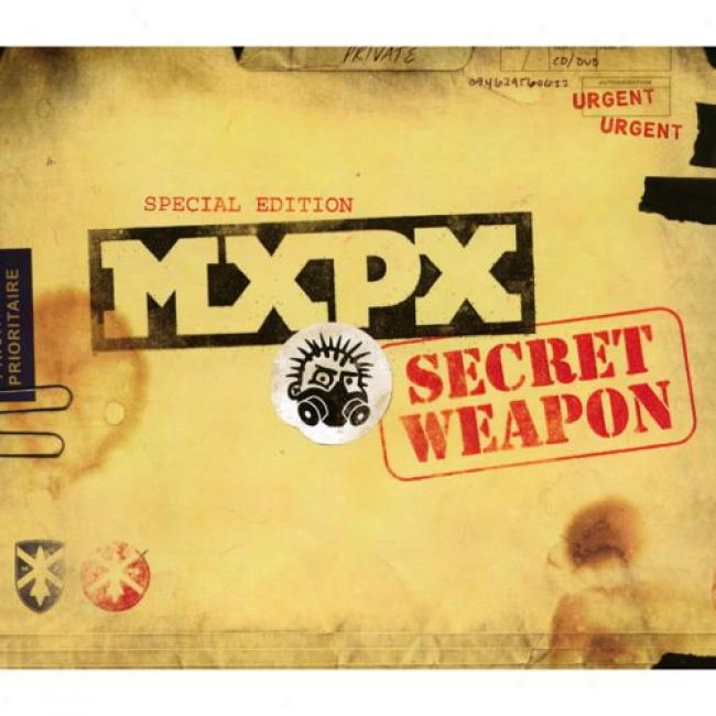 Secret Weapon (special Edition) (includes Dvd) (cd Slipcase)