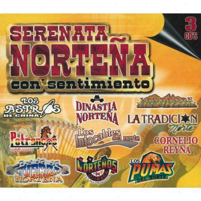 Serenaga Nortena Con Sentimiento (3 Disc Box Set)