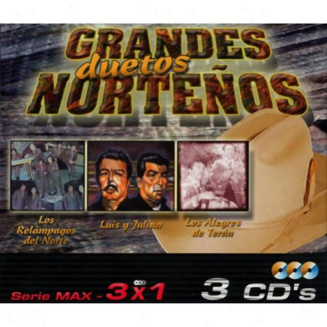 Serie Max: 3 X 1 - Grandes Duetos Nortenos (box Set)