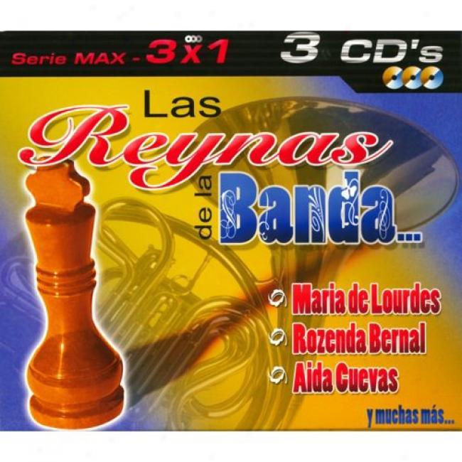 Serie Max: 3 X 1 - Las Reynas De La Banda... (3 Disc Box Set)