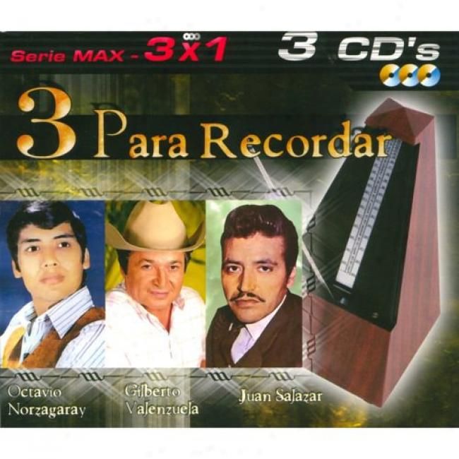 Serie Max: 3x1 - 3 Para Recordar (3 Disc Box Set)