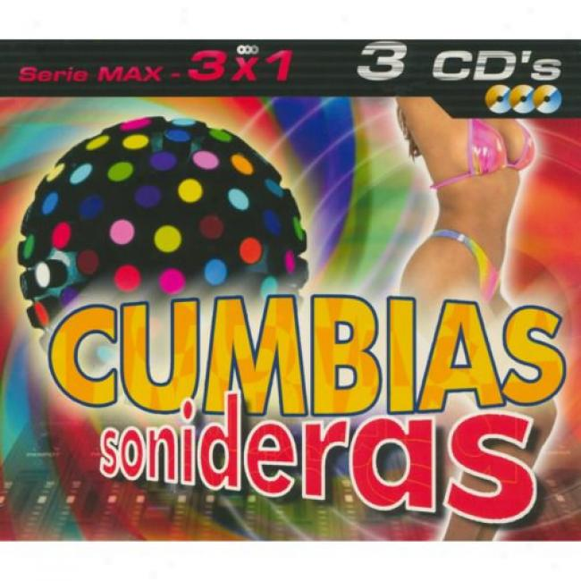 Serie Max: 3x1 - Cumbias Sonideras (3 Disc Blow Set)