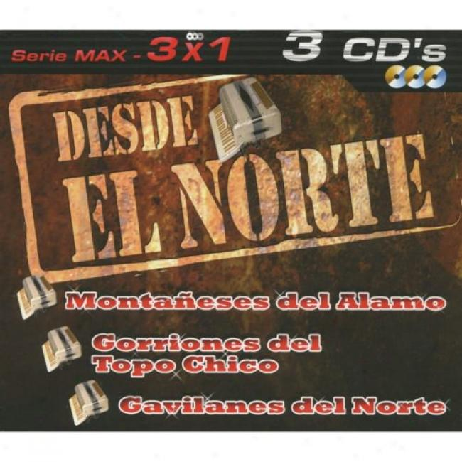 Serie Max: 3x1 - Desde El Norte (3 Disc Box Set)