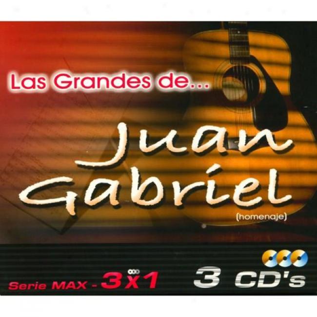 Serie Max: 3x1 - Las Grandes De... Juan Gabriel (3 Disc Box Set)
