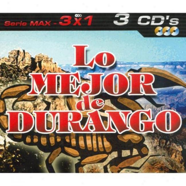 Serie Max: 3x1 - Lo Mejor De Duranguense (3 Disc Box Set)