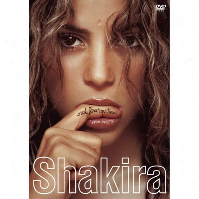 Shakira Orl Fixation Tour (music Dvd) (amaray Case)