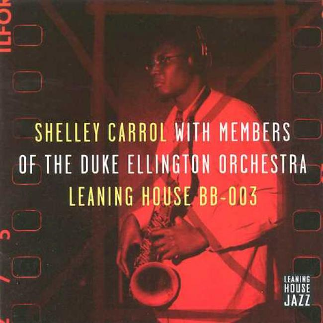 Shellry Carrol With Members Of The Ellington Orchestra