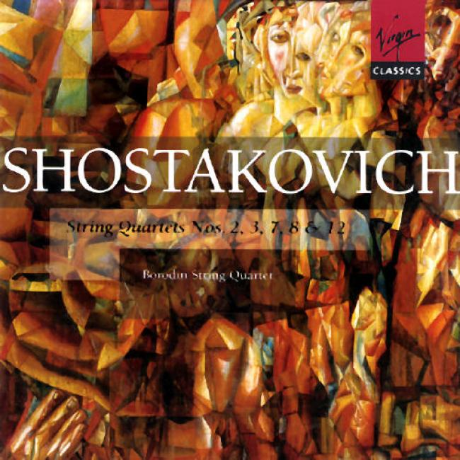 Shostakovich: String Quartet Nos.2,3,7,8 & 12 (2cd)
