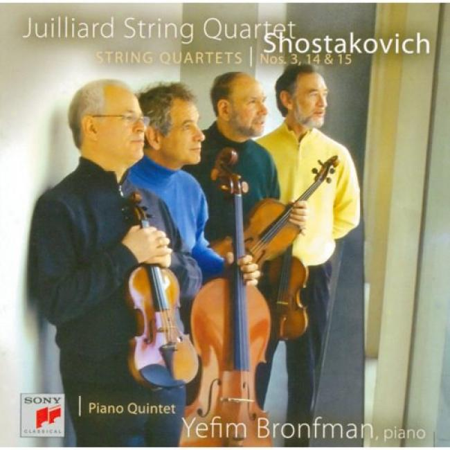 Shostakovich: String Quartets Nos.3, 14 & 15 (2cd)