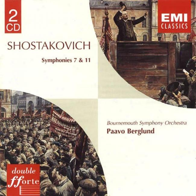 Shostakovich: Symphonies No.7 & 11 (2cd) (remaster)