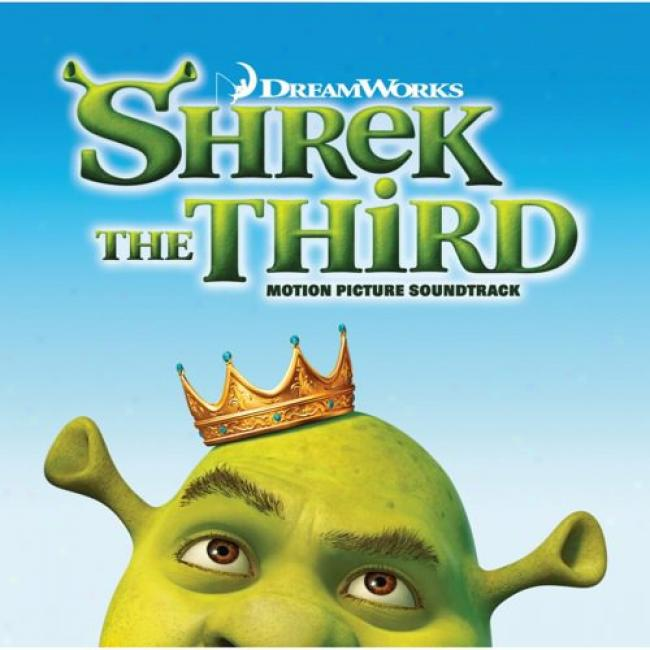 Shrek The Third Soundtrack (with Exclusive Sticker Pack)