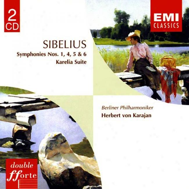Sibelius: Symphonies Nos.1, 4, 5 & 6 (remaster)