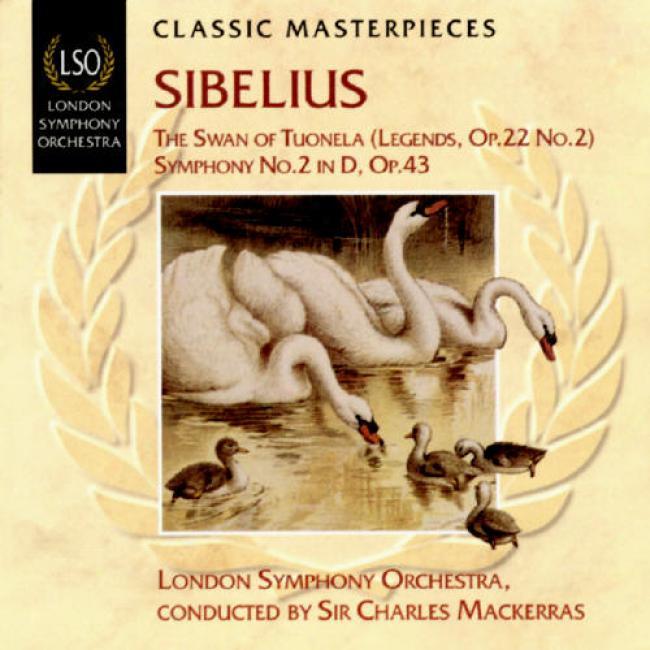 Sibelius: The Swan Of Tuonela (legends Op.22 No.2)/symphony No.2 In D Op.43