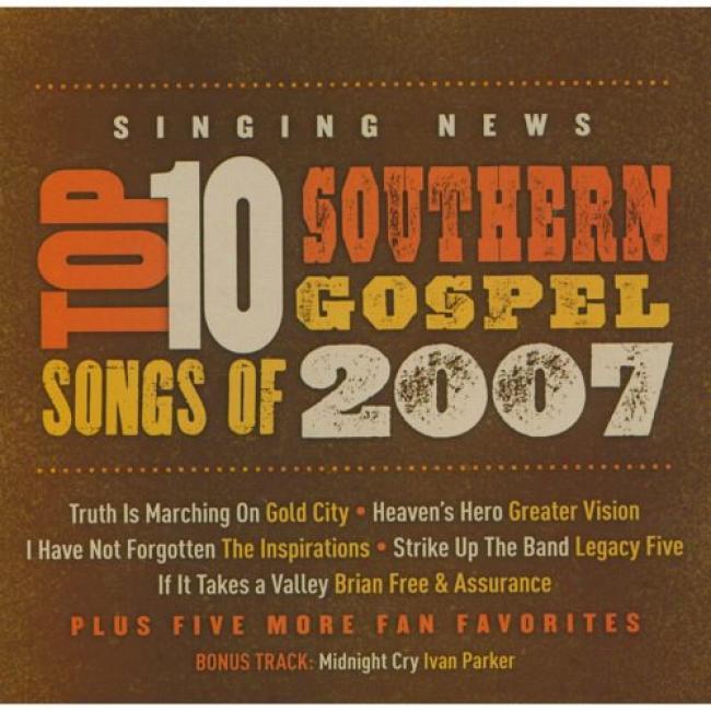 Singing News: Top 10 Southetn Gospel Songs Of 2007