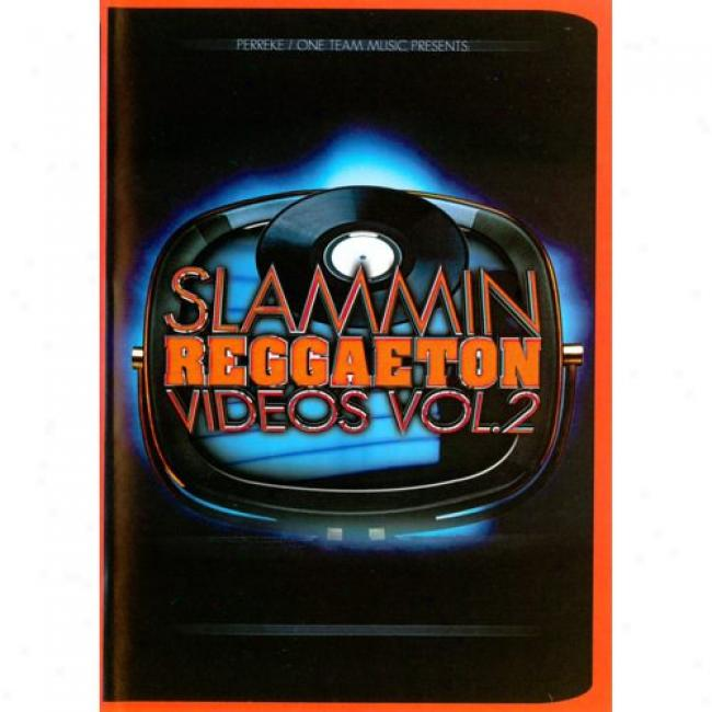 Slammin Reggaeton Videos, Vol.2 (music Dvd) (amaray Case)