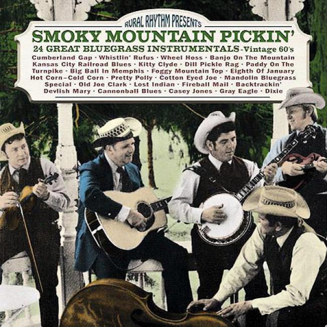 Smokey Mountain Pickin': 24 Great Bluegrass Instrumentals - Vintage 60's (remaster)