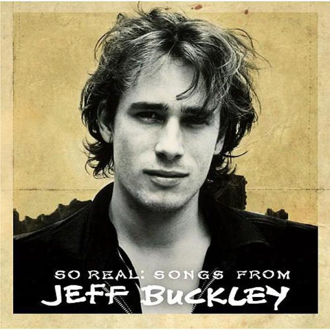 So Real: Songs From Jeff Buckley (eco-friendly Packaging)