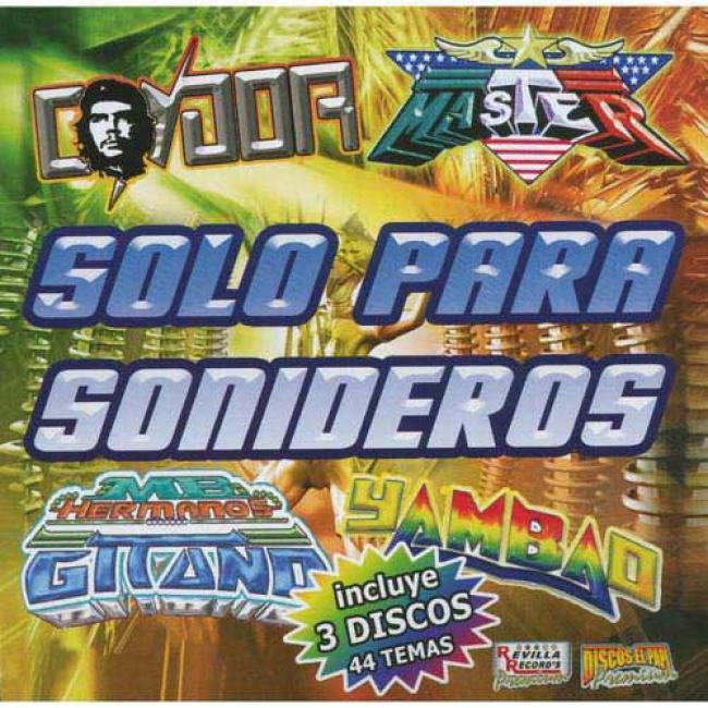 Solo Para Sonideros, Vol.i (3cd) (cd Slipcase)