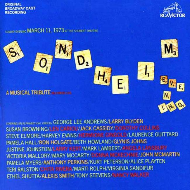 Sondheim: A Musical Tribute Soundtrack (2cd) (remaster)