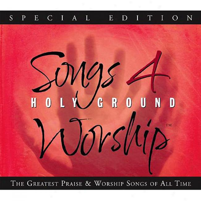 Songs 4 Worship: Holy Ground (special Edition) (3cd) (cd Slipcase)