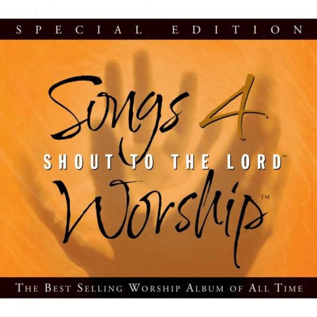 Songs 4 Worship: Shout To The Lord (special Edition) (3cd) (cd Slipcase)