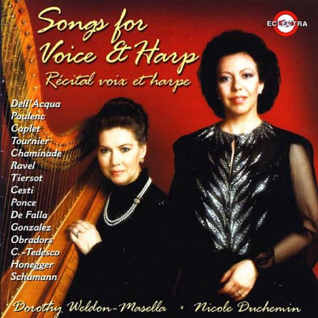 Songs For Voice And Harp/recital oPur Vpix Et Harpe