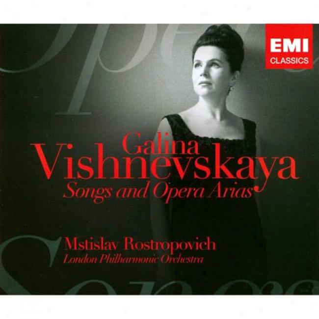 Songs & Opera Arias (3 Disc Box Set) (remaster)