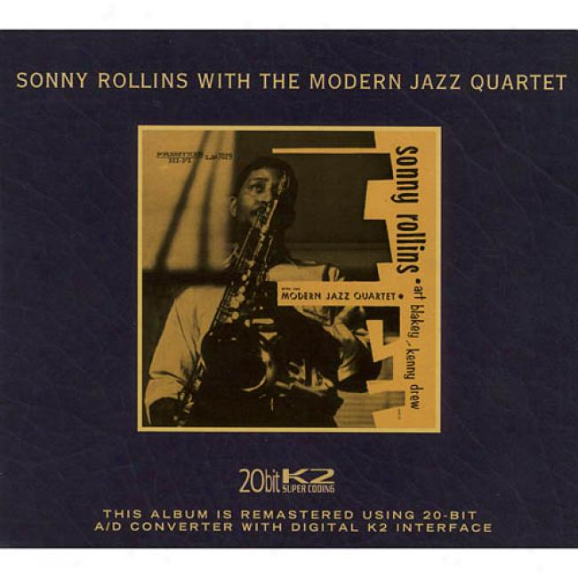 Sonny Rollins With The Modern Jazz Quartet (limited Edition) (cd Slipcsae) (remaster)