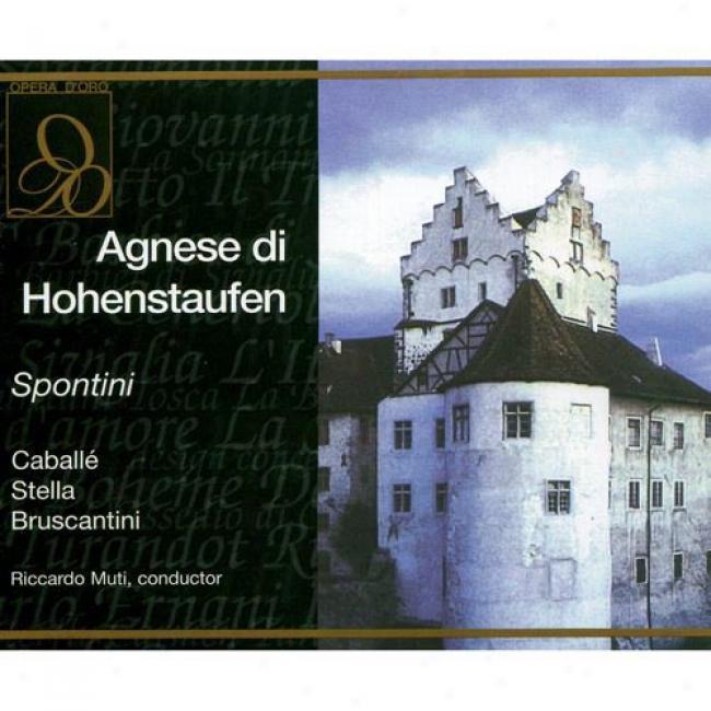 Spontini: Agnese Di Hohensraufen (2 Disc Box Set)