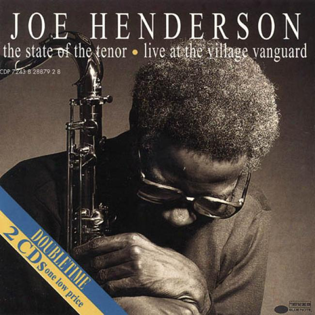 State Of The Tenor: Live At The Village Vanguard (2cd)