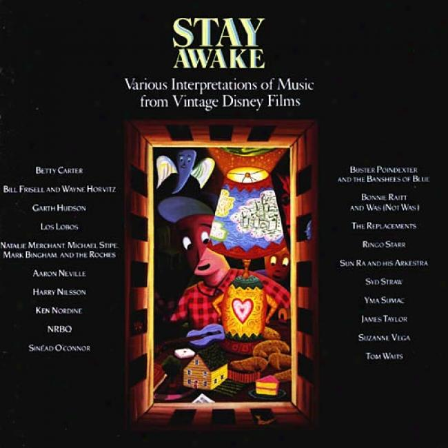 Stay Awake: Various Interpretations Of Melody From Vintage Disney Films