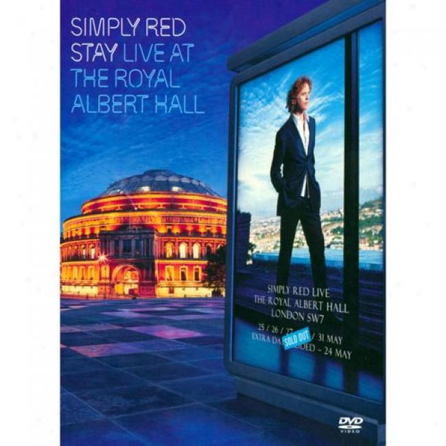 Stay: Live At The Royal Albert Hall (music Dvd) (dvd Slipcase)