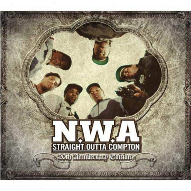 Straight Outta Compton (edited) (0th Anniversary Edition) (cd Slipcase)