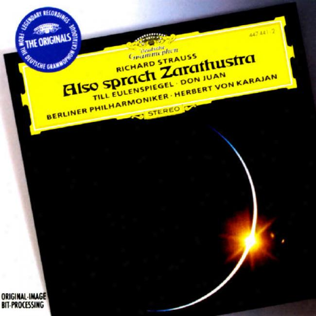 Strauss: Also Sprach Zaeathustra/till Eulenspiegel/fon Juan