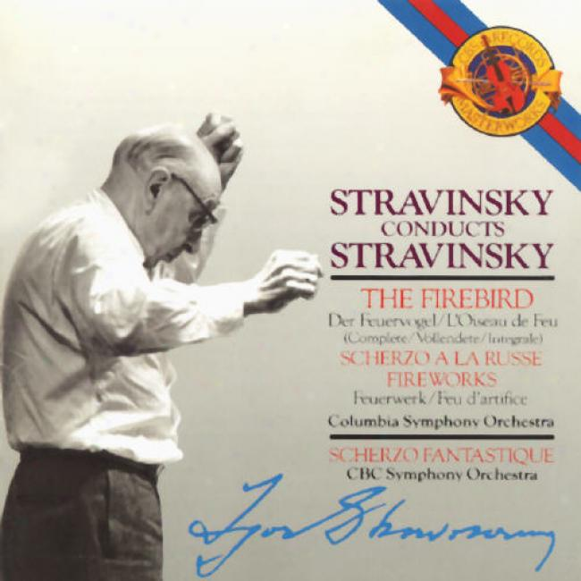 Stravinsky Conducts Stravinsky: Sym Psalms/sym In C/aym In 3