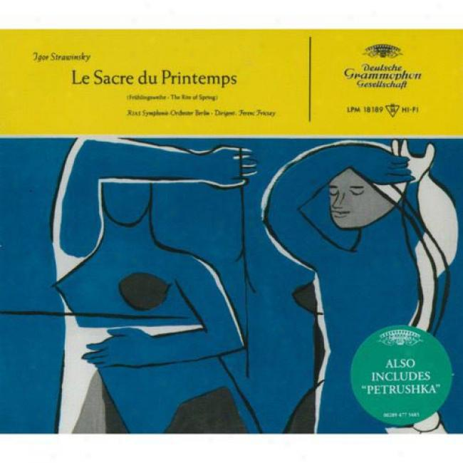 Stravinsky: Le Sacre Du Printemps/fruhlingweihe (digi-pak)